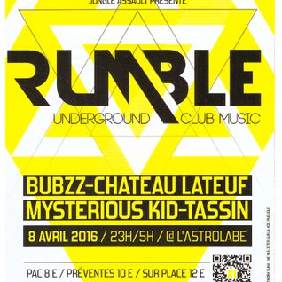 DJ Set @ Rumble / L'astrolabe, Orléans 08/04/2016