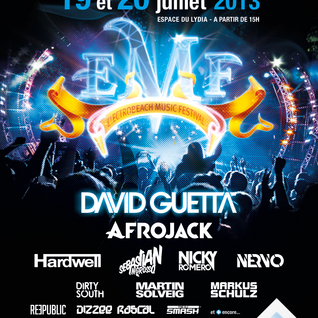Martin Solveig - Live @ ElectroBeach Festival (Port Barcares, France) - 19.07.2013