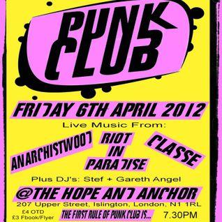 anarchistwood live at Punk Club 06.04.12