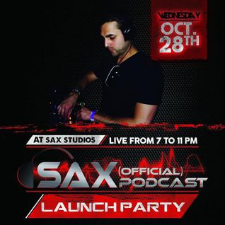 DJ Sax (Official) Podcast: Episode 001 - Live at Sax Studios