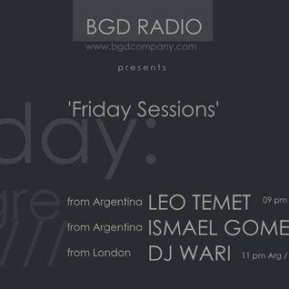 DJ Wari Live@BGD Radio_Underground Rhythms Episode.01