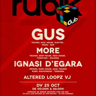 MoRe @ Club Rubik, Stroika, Manresa (2013-10-25)