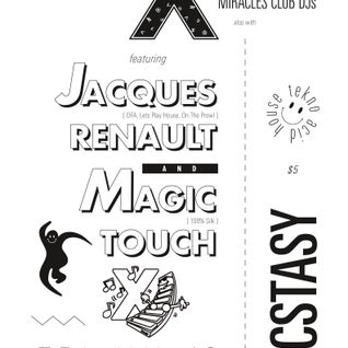Jacques Renault LIVE @ ECSTASY