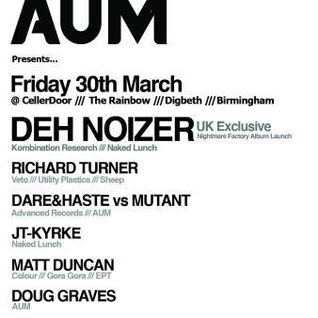 Matt Duncan @ Aum Birmingham March 30th 2012