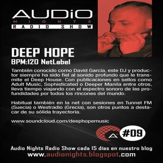 Deephope - Guest Mix @ Audio Nights Radio Show