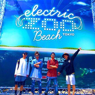 SHOTA (from DJ HACKs) @ Electric Zoo Beach Tokyo 2016-05-07
