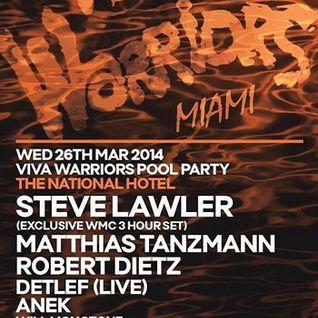 Steve Lawler - Live @ Miami Music Week 2014 WMC, Viva Warriors Pool Party, The National Hotel - 25.0