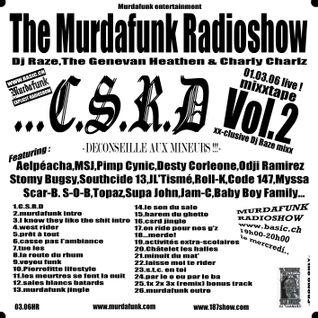 MURDAFUNK RADIOSHOW - 060301 - CSRD SPECIAL VOL 2