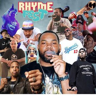 RHYMEFESTLA iii Mixtape Hosted by DJ Proper Feat Raekwon , Zion I,  & Immortal Technque