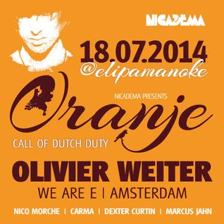 Dexter Curtin & Marcus Jahn @ Oranje - Call of Dutch Duty Elipamanoke Leipzig 18-07-2014