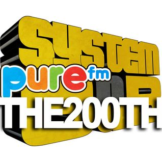 SystemDub radio show THE 200TH EDITION + 25YearsDeejaying 11.04.2015 - Pure FM