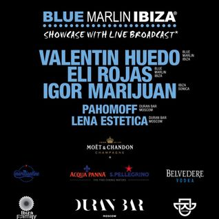 IGOR MARIJUAN - LIVE AT DURAN BAR MOSCOW SHOWCASE BMI & IBIZA SONICA - 7TH NOVEMBER 2015