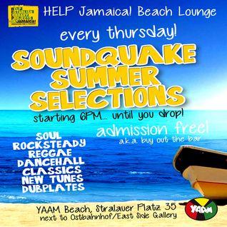 Hille @ HELP Jamaica! Beach Lounge (Club YAAM Berlin) June 2013