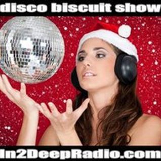 LIVE ON  THE DISCO BISCUIT SHOW FOR THURSDAY DEC 2, 2010 @IN2DEEPRADIO.COM