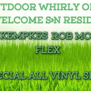ROB MORLEY - Whirly Vinyl Set 5-18-16