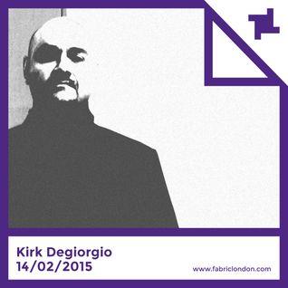 Kirk Degiorgio - fabric x Machine Mix (Jan 2015)