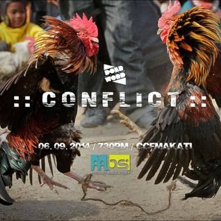 20140609 | Conflict - Ickhoy De Leon