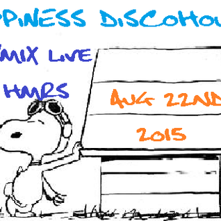 R4YM1X - Happiness DiscoHouse (live on HMRS August 22nd 2015)