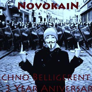 - NovokaiN- Synesthesia- Live Techno Belligerent 3 Year Anniversary - 4-12-13 #Brazil #Syria #Egypt