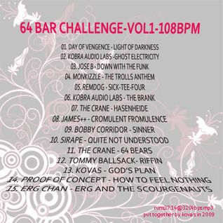 64BarChallenge>vol1<108bpm-mixed-by-K0va5