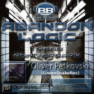 ABANDON LOGIC w/Blake Baltimore 1Year Anniversary Show / Guest Oliver Petkovski @ DI.FM/PROGRESSIVE