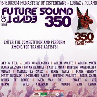 Future Sound Of Egypt 350 Contest - PJQ