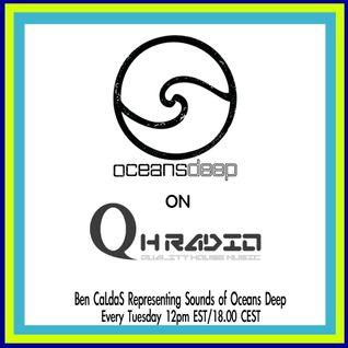 Ben CaLdaS representing Sounds of Oceans Deep on QHRadio 1/29/13 Show