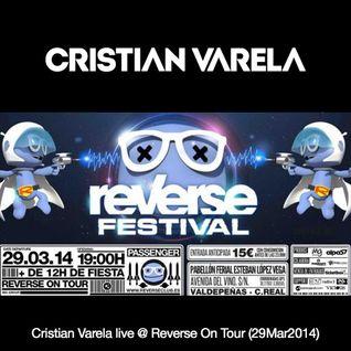 Cristian Varela Live @ Reverse Valdepeñas