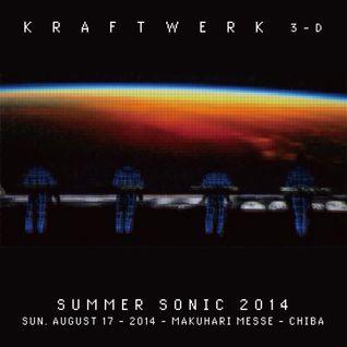 Kraftwerk - Summer Sonic 2014 - Makuhari Messe, Chiba, 2014-08-17