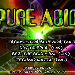 BazTheAcidMan - Pure Acid 2nd August 2013