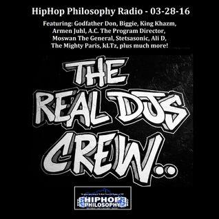 HipHopPhilosophy.com Radio - LIVE - 03-28-16