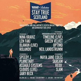 Maya Jane Coles - Live at Boiler Room Stay True Scotland - 04-Jun-2015