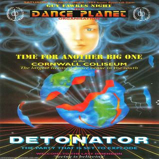 DJ Scorpio - Dance Planet Detonator 4 5th November 1994