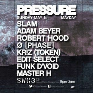 Funk D'Void - Live @ Pressure, SWG3 - 01.05.2016