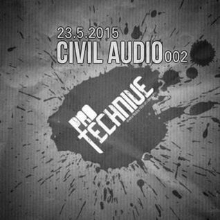 Civil Audio live at deep.fm Protechnive radio 23-01-2015