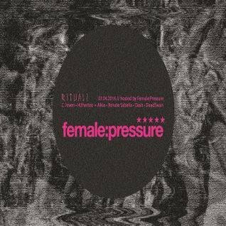 C.7even @ Rituals Hosted By female:pressure - Suicide Circus Berlin - 07.04.2016