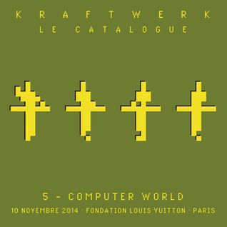 Kraftwerk - Fondation Louis Vuitton, Paris, 2014-11-10
