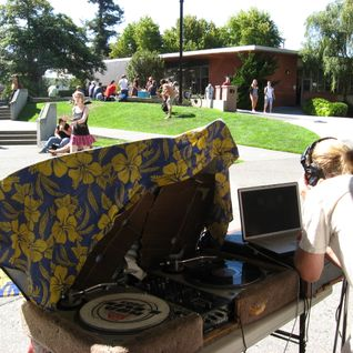 Noontime on the HSU QUAD 9/9/11