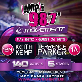 Deep House DJ mix for 98.7 AMP Radio (Detroit, MI) May 2015