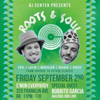 DJ Center + Bobbito Garcia - Live in NYC (2014)