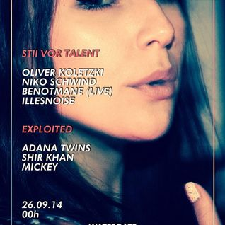 Oliver Koletzki @ Watergate Club Berlin 26-09-2014