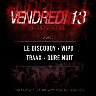 Le Discoboy - DJ Set @ Pub St-Paul (06-13-14)