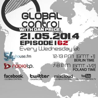 Dan Price - Global Control Episode 162 (21.05.14)