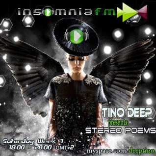 Tino Deep-Stereo Poems Ep. 012 [October 23 2010] On InsomniaFm
