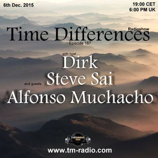 Dirk - Host Mix - Time Differences 187 (6th Dec. 2015) on TM-Radio