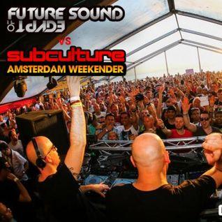 Aly & Fila B2B John O'Callaghan - Live v@ FSOE Vs Subculture Amsterdam - 07.06.2014