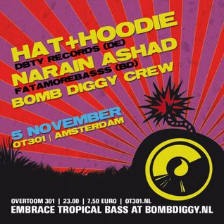 Hat+Hoodie - Mini Mix for Bomb Diggy