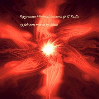 Psygressive Minimal Sessions @ tT Radio 03 feb 2011