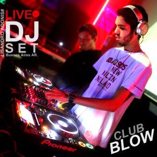 Promo 014# LISANDRO ADONIS@DJSET LIVE Club BLOW TechHouse Buenos Aires