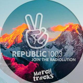 Republic 100.3 Radio > March 2016 Tracks